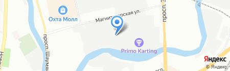 Ормис Северо-запад на карте Санкт-Петербурга