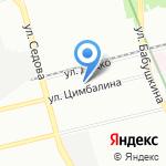 Росинжиниринг-Энерго-Строй на карте Санкт-Петербурга
