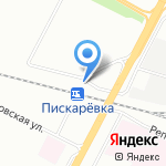 Андерсен на карте Санкт-Петербурга
