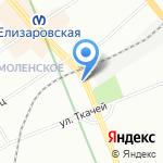 Шариков на карте Санкт-Петербурга