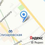 Майрамба на карте Санкт-Петербурга