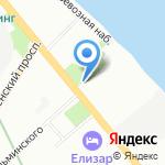 Невская ветеринарная лечебница на карте Санкт-Петербурга