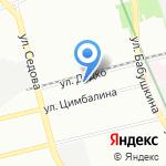 Элмас на карте Санкт-Петербурга