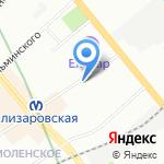 Почтовое отделение №29 на карте Санкт-Петербурга