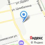 Конэкс на карте Санкт-Петербурга