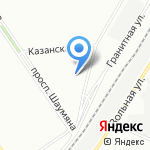 КвалТел на карте Санкт-Петербурга