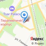 Детское село на карте Санкт-Петербурга