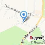 Павловская ветеринарная лечебница на карте Санкт-Петербурга