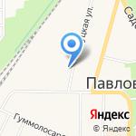Цветовичкоф на карте Санкт-Петербурга