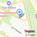 Fix SPb на карте Санкт-Петербурга
