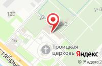 Схема проезда до компании Тим Трейд в Санкт-Петербурге