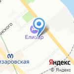 Мир детского трикотажа на карте Санкт-Петербурга