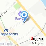 Комплексный центр социального обслуживания населения Невского района на карте Санкт-Петербурга