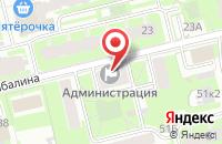 Схема проезда до компании Двойная Сумка в Санкт-Петербурге