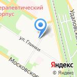 Nail на карте Санкт-Петербурга