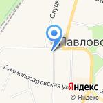 Коммунар на карте Санкт-Петербурга