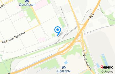 Местоположение на карте пункта техосмотра по адресу г Санкт-Петербург, ул Малая Балканская, д 59 к о
