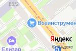 Схема проезда до компании Группа Компаний Дикастер в Санкт-Петербурге