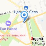 Вивьен на карте Санкт-Петербурга