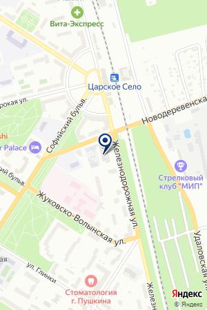 ПУНКТЫ ПРИЕМА МАКУЛАТУРЫ ПРОИЗВОДСТВЕННО-ЗАГОТОВИТЕЛЬНОЕ ПРЕДПРИЯТИЕ ЯЛТИНСКОЕ на карте Санкт-Петербурга