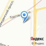 R-66 на карте Санкт-Петербурга