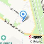 Станция скорой медицинской помощи №4 на карте Санкт-Петербурга