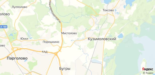 Энколово на карте