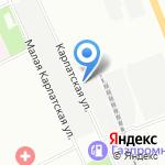 Дукато ПроСервис на карте Санкт-Петербурга