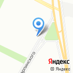 Детская школа искусств №12 на карте Санкт-Петербурга