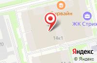 Схема проезда до компании Мега Офис в Санкт-Петербурге