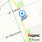 Терис на карте Санкт-Петербурга
