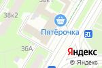 Схема проезда до компании Saltan в Санкт-Петербурге
