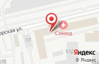 Схема проезда до компании Конгрессно-Выставочная Компания  в Санкт-Петербурге