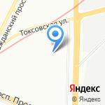 Оптима на карте Санкт-Петербурга