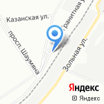 ОСК на карте Санкт-Петербурга