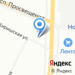 А-ГАМА на карте Санкт-Петербурга