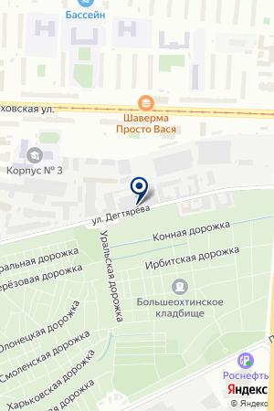 ТПФ ТДС на карте Санкт-Петербурга