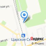 Агрохимзем на карте Санкт-Петербурга