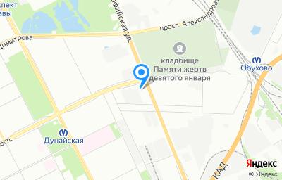 Местоположение на карте пункта техосмотра по адресу г Санкт-Петербург, ул Софийская, д 87