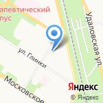 Царскосельская мясная лавка на карте Санкт-Петербурга