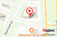 Схема проезда до компании А-Сенс в Санкт-Петербурге