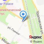 СОЧУВСТВИЕ на карте Санкт-Петербурга