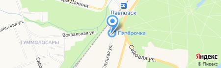 А5 на карте Санкт-Петербурга