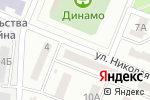 Схема проезда до компании Укрремстройинвест в