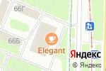 Схема проезда до компании Магия чистоты в Санкт-Петербурге