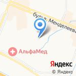 Муринская средняя общеобразовательная школа №1 на карте Санкт-Петербурга