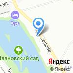 Интерфин на карте Санкт-Петербурга