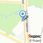 Автобаферы ТТС на карте Санкт-Петербурга