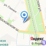 Санкт-Петербургский промышленно-экономический колледж на карте Санкт-Петербурга