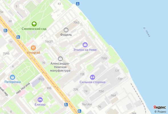 жилой комплекс Эталон на Неве